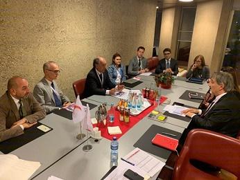 GINEVRA: UNA DELEGAZIONE MAECI E AICS INCONTRA IL PRESIDENTE DELLA IFRC FRANCESCO ROCCA