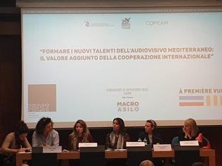 FORMARE I NUOVI TALENTI DELL'AUDIOVISIVO MEDITERRANEO: A ROMA IL DIBATTITO DI UNINETTUNO COPEAM E MEDFILMFEST