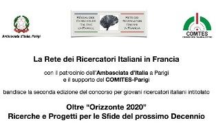 PROROGATO IL BANDO RECIF PER GIOVANI RICERCATORI ITALIANI IN FRANCIA