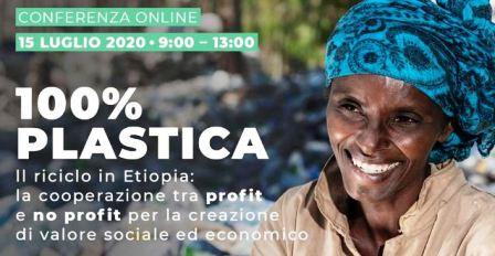 """""""100% PLASTICA"""": MERCOLEDÌ LA CONFERENZA SUL PROGETTO DI COOPERAZIONE ITALIANO IN ETIOPIA"""