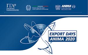 """OPERATORI GIORDANI E PALESTINESI AGLI """"EXPORT ANIMA DAYS 2020"""" CON L"""