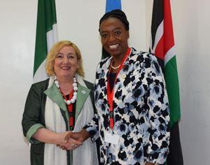 INCONTRI BILATERALI DEL VICE MINISTRO DEL RE A MARGINE DEL VERTICE ICPD25 DI NAIROBI