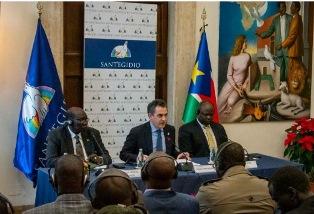 TUTTE LE PARTI POLITICHE DEL SUD SUDAN FIRMANO UN ACCORDO DI PACE A SANT