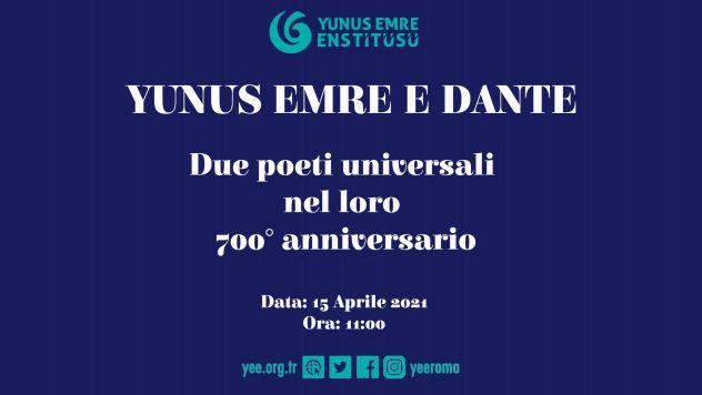 Yunus Emre e Dante: due poeti universali di Italia e Turchia