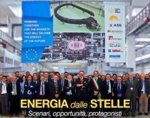 """""""ITER"""": INDUSTRIA ITALIANA LEADER UE PER LA PRIMA CENTRALE A FUSIONE"""