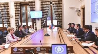 IL MINISTRO AMENDOLA INCONTRA IL VICE PRIMO MINISTRO DELLA MACEDONIA DEL NORD OSMANI
