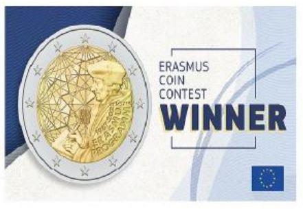 Erasmus: scelto il disegno della moneta commemorativa per il 35º anniversario