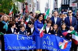 ALDERISI (FI) A NEW YORK PER LA 75ESIMA PARATA DEL COLUMBUS DAY