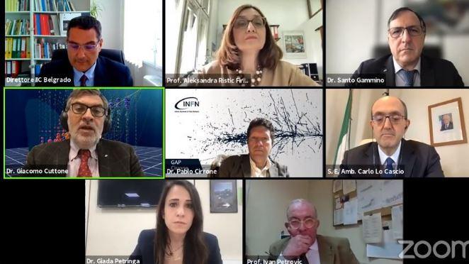 Cooperazione biofisica Italia-Serbia: webinar con Ambasciata e IIC Belgrado