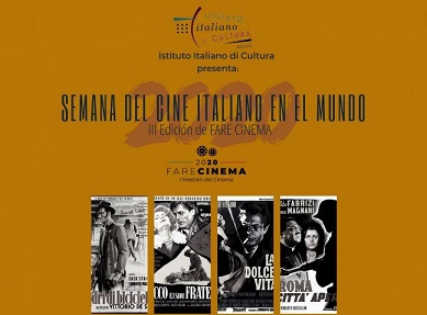 LA SETTIMANA DEL CINEMA ITALIANO ALL'IIC DI BOGOTÀ