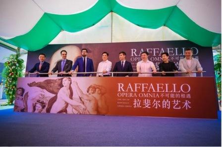 """""""RAFFAELLO OPERA OMNIA"""": INAUGURATA LA MOSTRA AL GLOBAL SUNAC CENTER FOR CONTEMPORARY ART DI KUNMING"""
