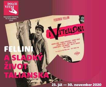 SLOVACCHIA: LA DOLCE VITA DI FELLINI IN MOSTRA AL MUSEO NAZIONALE DI BRATISLAVA CON IIC E AMBASCIATA