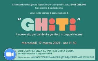 """""""Ghiti"""": mercoledì conferenza online con l'ARLeF"""