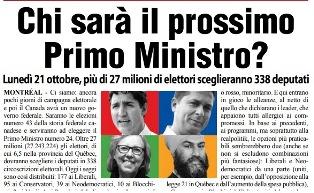 CHI SARÀ IL PROSSIMO PRIMO MINISTRO DEL CANADA? – di Vittorio Giordano