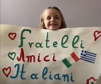 GLI ARTISTI GRECI PER L'ITALIA: IL GRAZIE DEL COMITES