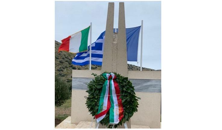 """Atene: l'Ambasciata rende omaggio ai caduti del """"Piroscafo Oria"""""""
