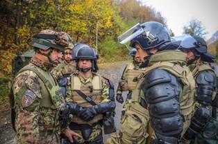 KOSOVO: ESERCITAZIONE NATO PER IL CONTINGENTE ITALIANO