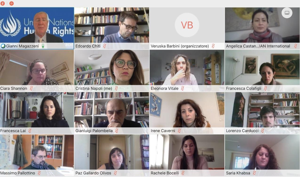 L'Alto Commissario ONU per Diritti Umani Magazzeni apre il corso della Dirpolis della Sant'Anna
