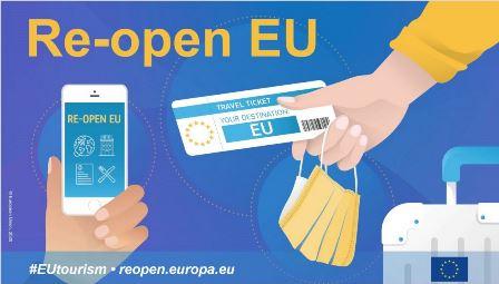 """VIAGGIARE IN EUROPA: NASCE """"RE-OPEN EU"""""""