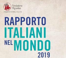 MIGRANTES: IL 25 OTTOBRE LA PRESENTAZIONE DEL RAPPORTO ITALIANI NEL MONDO