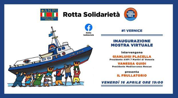 Rotta solidarietà: al via il progetto artistico-culturale-politico di ANPI e Mediterranea