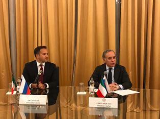 MOSCA: L'AMBASCIATORE TERRACCIANO INCONTRA UNA DELEGAZIONE DELL'HARVARD CLUB OF RUSSIA