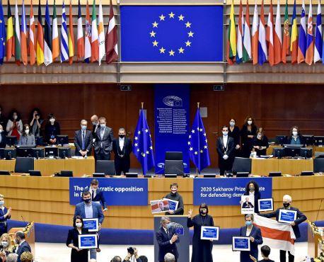 """""""La rivoluzione gentile in Bielorussia"""": dibattito online con il Parlamento Ue"""