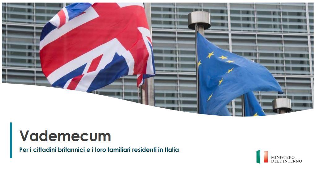 Brexit: vademecum del Viminale per cittadini britannici residenti in Italia
