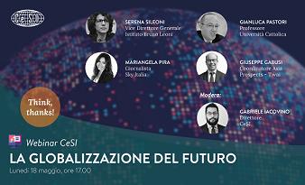 LA GLOBALIZZAZIONE DEL FUTURO: IL WEBINAR DEL CENTRO STUDI INTERNAZIONALI