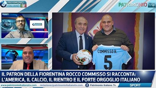 ROCCO COMMISSO SI RACCONTA A PATRIMONIO ITALIANO TV