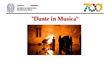 Libri, musica e storia nel segno di Dante: i prossimi eventi del Consolato di Francoforte