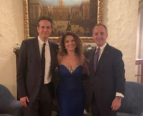 WASHINGTON: SUCCESSO PER IL CONCERTO DI ROBERTA GAMBARINI E JEB PATTEN IN AMBASCIATA