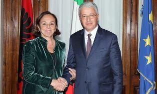 IL MINISTRO LAMORGESE INCONTRA IL COLLEGA ALBANESE LLESHAJ