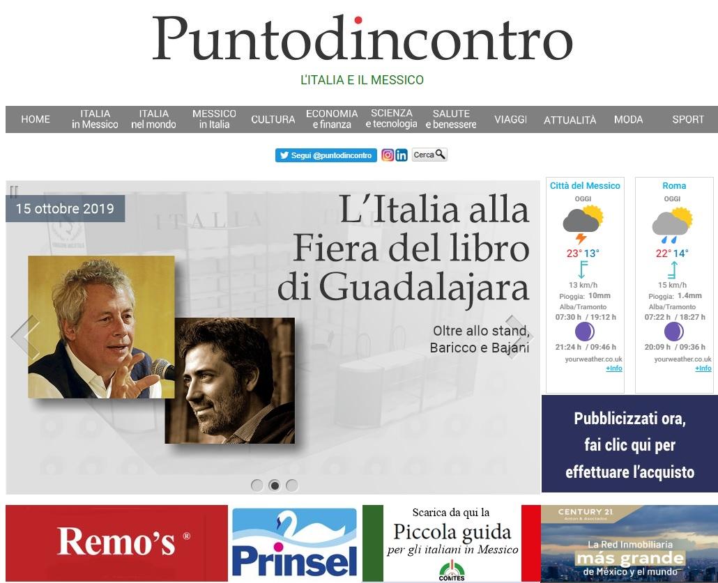 L'ITALIA ALLA FIERA DEL LIBRO DI GUADALAJARA – di Massimo Barzizza