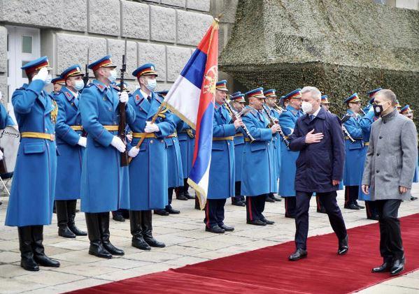 Partenariato strategico Italia-Serbia: Guerini in visita a Belgrado