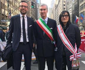 DE ROBERTIS E MAZZEO (TOSCANA) VOLANO A NEW YORK PER IL COLUMBUS DAY