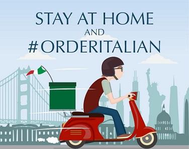 """STAY AT HOME AND #ORDERITALIAN"": LA NUOVA CAMPAGNA DELL'AMBASCIATA ITALIANA A WASHINGTON"