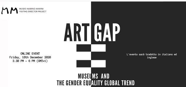 """""""Art Gap"""": dibattito sulle discriminazioni di genere con il Museo Marini di Firenze"""