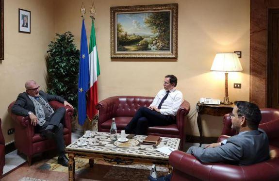 IL MINISTRO PER GLI AFFARI REGIONALI BOCCIA RICEVE L