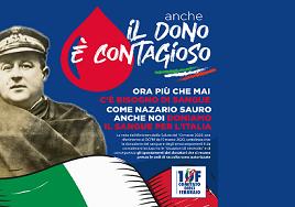 """""""ANCHE IL DONO È CONTAGIOSO"""": IL COMITATO 10 FEBBRAIO INVITA A DONARE IL SANGUE"""