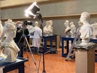 Galleria dell'Accademia di Firenze: Grandi lavori alla Gipsoteca