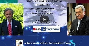 """RIPARTI PERUGIA, OPPORTUNITÀ PER LE PMI: PROSEGUE IL CICLO DI INTERVISTE DI """"OK ITALIA, PARLIAMONE"""""""