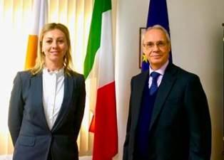 CIPRO: ROSITA MINISCHETTI NUOVO CONSOLE ONORARIO D'ITALIA A LIMASSOL