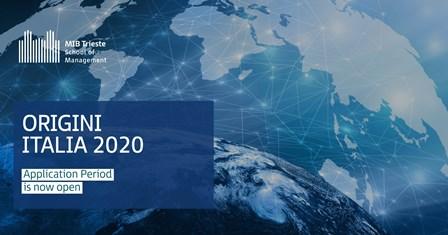 ORIGINI ITALIA: ONLINE IL BANDO 2020