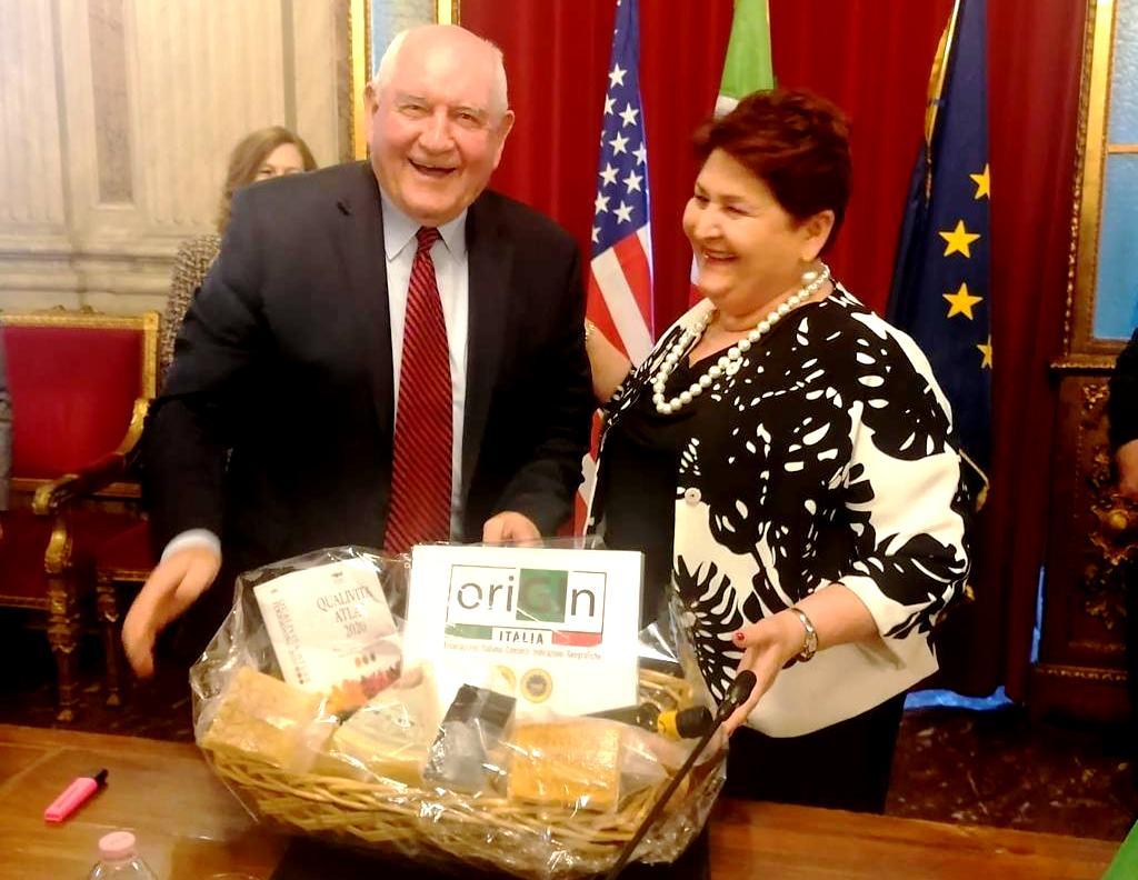 DAZI USA: ORIGIN ITALIA IMPORTANTE LA COLLABORAZIONE PER LE DOP IGP