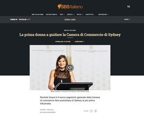 RACHELE GRASSI NUOVO SEGRETARIO GENERALE DELLA CAMERA DI COMMERCIO ITALO-AUSTRALIANA DI SYDNEY – di Davide Schiappapietra