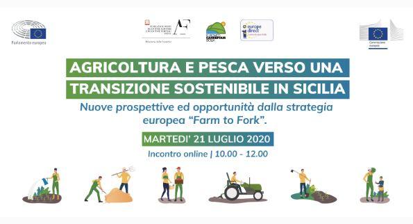 """""""VERSO UNA TRANSIZIONE SOSTENIBILE IN SICILIA"""": IL WEBINAR DELL'UFFICIO DEL PARLAMENTO UE IN ITALIA"""