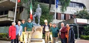 Melbourne: il Veneto Club accoglie il monumento all'Associazione Nazionale Alpini