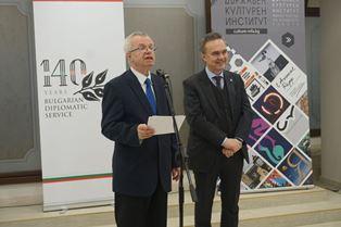 SOFIA: L'AMBASCIATORE BALDI ALLA INAUGURAZIONE DELLA MOSTRA SUI 140 ANNI DI RELAZIONI TRA ITALIA-BULGARIA