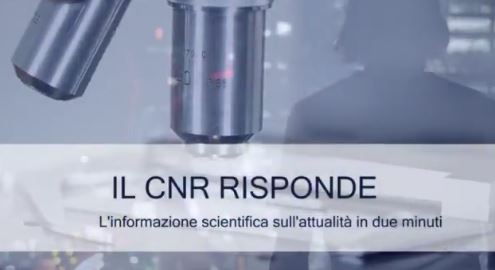 """""""IL CNR RISPONDE"""": AL VIA IL NUOVO SPAZIO DI INFORMAZIONE DEI RICERCATORI"""